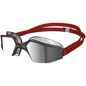 speedo Aquapulse Max Mirror V3 Goggles Unisex, black/silver